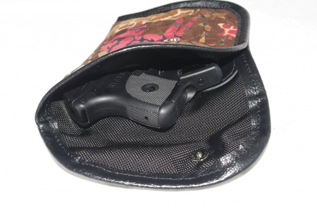 Quilted In-the-purse Holster With Leather Trim